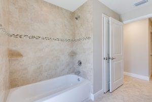 guest bather shower tub